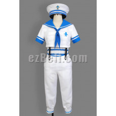 New! Free! Iwatobi Swim Club Haruka Nanase Sailor Suit Cosplay Costume