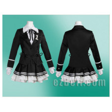 Vocaloid Hatsune Miku Secret Police Cosplay Costume