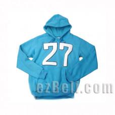 Katekyō Hitman Reborn - Tsunayoshi Sawada / Tsuna Sweater Hoodie / Tsuna No.27 Blue Sweater Hoodie