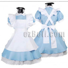 K-ON Alice In Wonderland Maid Cosplay Costume