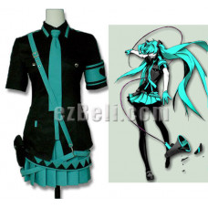 New! Hatsune Miku Vocaloid Love Is War Cosplay Costume