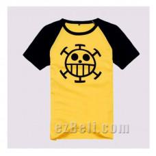 One Piece Trafalgar Law Yellow / White T-shirt