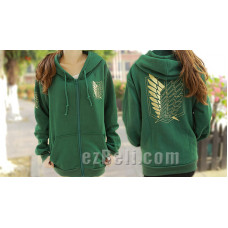 Attack on Titan 進撃の巨人 Shingeki no Kyojin - Casual Hoodie Gold Edition