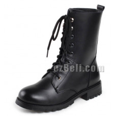 Cosplay Boots Black