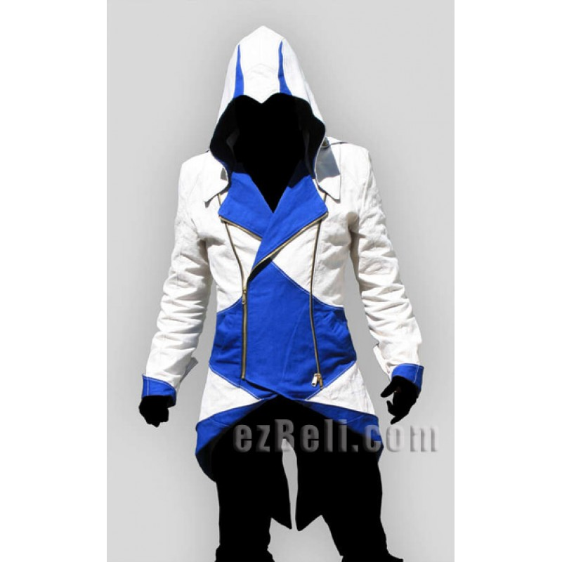 Assassin's Creed 3 Connor Kenway Hoodie Jacket