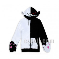 Danganronpa Monobear / Monokuma Cosplay Hoodie Jacket