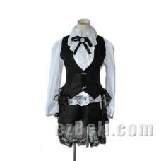 Black Butler Kuroshitsuji Ciel Phantomhive Dark Circus Cosplay Costume