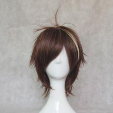 Guilty Crown Shu Ouma Brown  Cosplay Wig