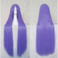 Straight Long Wig 100CM Purple