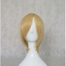 Cosplay Wig - Long Fringe Short Wig - Blonde