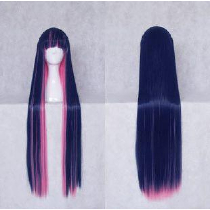 Panty & Stocking with Garterbelt Stocking Blue pink Cosplay Wig