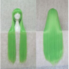 Straight Long Wig 100CM Light Green