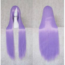 Straight Long Wig 100CM Light purple