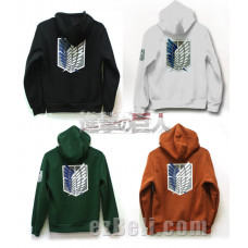 Attack on Titan 進撃の巨人 Shingeki no Kyojin - Casual Hoodie