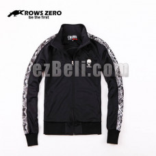 New! Official Original Crows Zero Skull Casual Sportwear Sweater Jacket