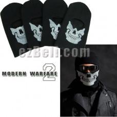 Call Of Duty: Modern Warfare 2 Ghost Skull Full Head Mask