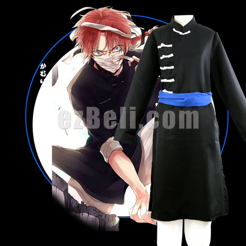 New! Gintama SIlversoul Kamui Cosplay Costume