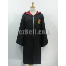 New! Harry Potter Robe Gryffindor Cloak Red Cosplay Costume