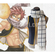 New! Fairy Tail Natsu Dragneel Cosplay Scarf