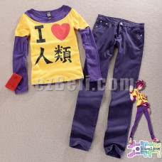 New! No Game No Life Sora Cosplay Costume
