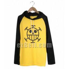 One Piece Trafalgar Law Cosplay Cotton Hoodie T-shirt