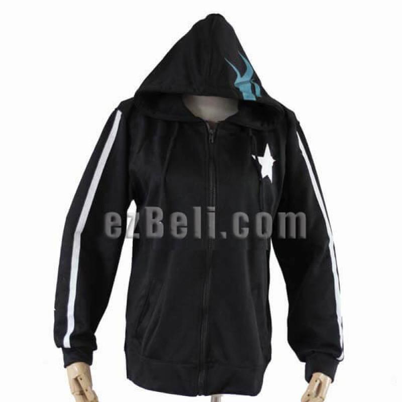 Black Rock Shooter BRS Hoodie Jacket
