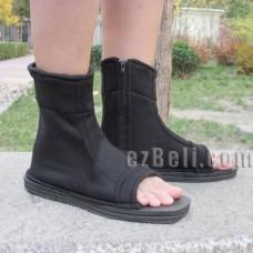 Naruto black cosplay shoes