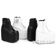 Cosplay Boots Flat-Bottomed Platform Shoes 16 centimeters