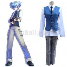 New! Ansatsu Kyoushitsu / Anime Assassination Classroom Shiota Nagisa Cosplay Costume