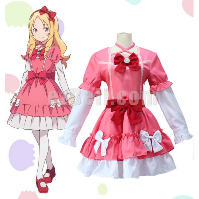 New! Eromanga Sensei Yamada Elf Cosplay Costume Lolita Dress