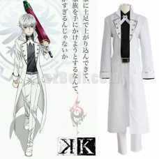 New! Anime K Project K Return of Kings Yashiro Isana Cosplay Costume