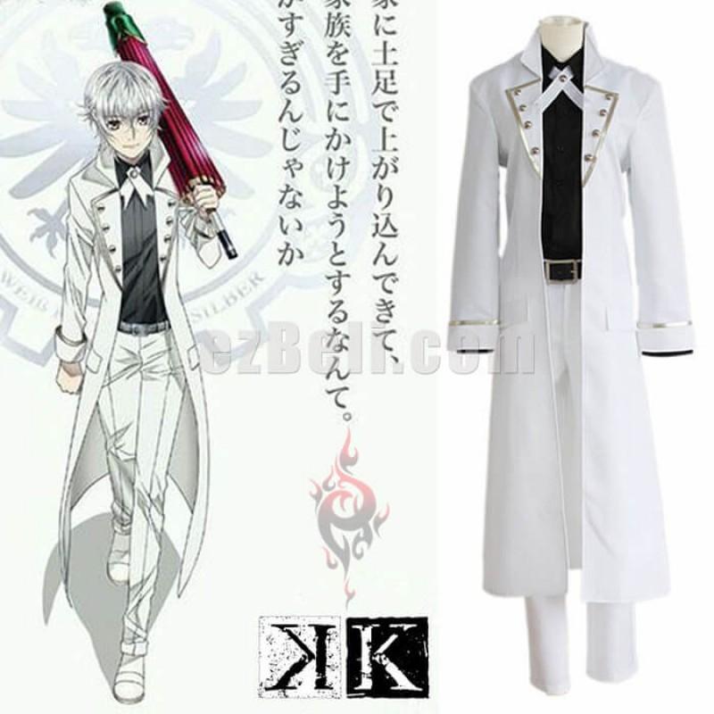 New! Anime K Project K Return of Kings Yashiro Isana Cosplay Costume