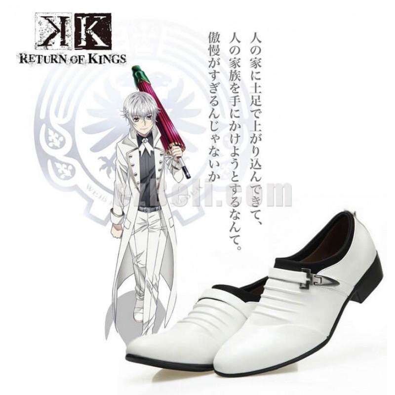 New! Anime K Project K Return of Kings Yashiro Isana Cosplay Shoes