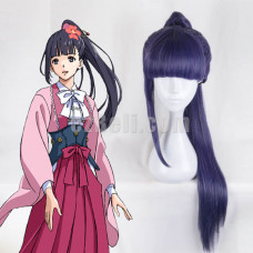 New! Anime Kabaneri of Iron Fortress Yomogawa Ayame Long Cosplay Wig