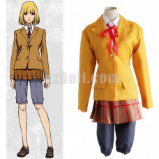 New! Prison School Cosplay Hana Midorikawa Cosplay Costume School Uniform