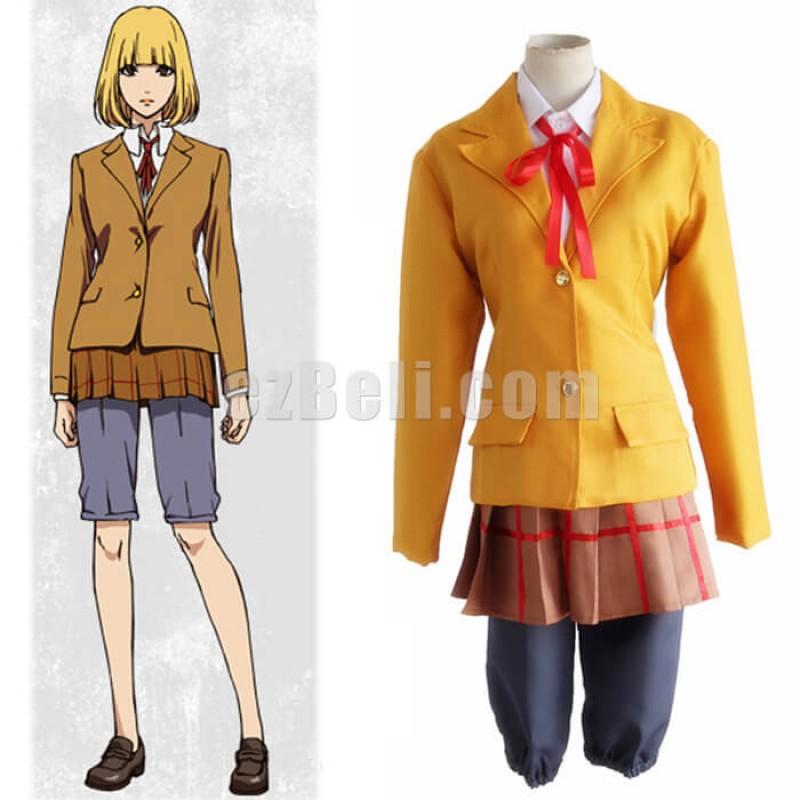 New! Prison School Cosplay Hana Midorikawa Cosplay Costume School Uniform