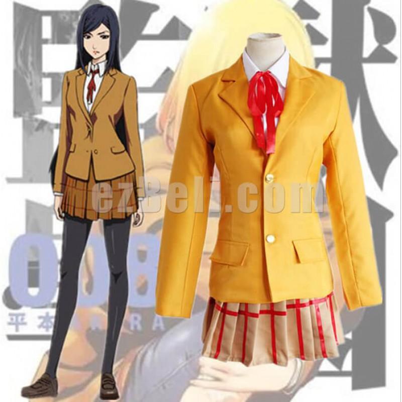 New! Prison School Cosplay Kurihara Mari Cosplay Costume School Uniform