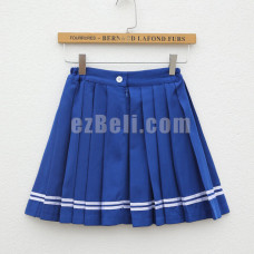 New! Kantai Collection Shimakaze Casual Cosplay Pleated Short Skirt & Socks