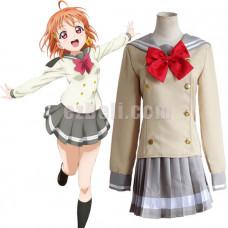 New! Love Live! Sunshine Aqours Takami Chika School Uniform Sailor Suit Cosplay Costume