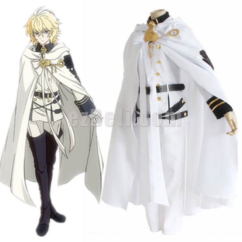 New! Anime Seraph Of The End Owari no Seraph Mikaela Hyakuya Uniform Cosplay Costume