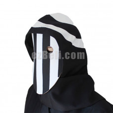 New! Anime Tokyo Ghoul 2nd Kurona Yasuhisa Black White Stripes Cosplay Mask
