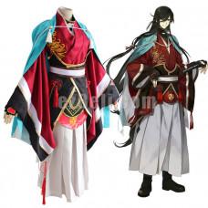 New! Anime Touken Ranbu Online Izuminokami Kanesada Cosplay Costume Samurai Kimono Costumes