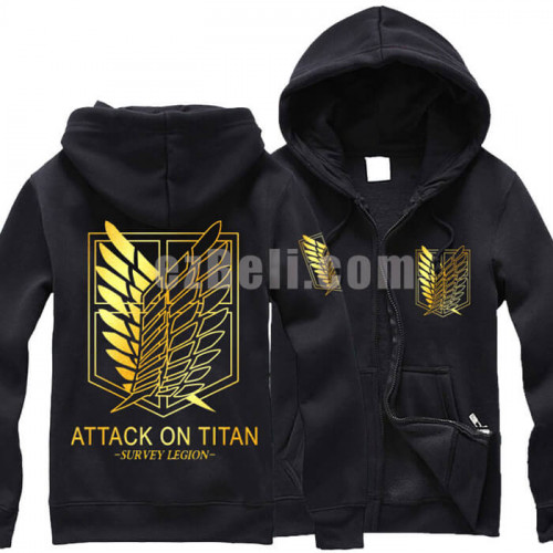 attack on titan shingeki no kyojin black gold. Black Bedroom Furniture Sets. Home Design Ideas