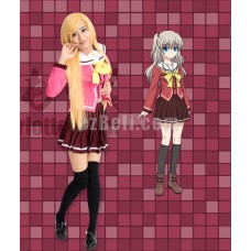 New! Charlotte Tomori Nao Students Uniform Cosplay Costumes