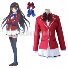 New! Anime Classroom of the Elite Suzune Horikita Kujita Kikyo Japanese School Uniform Cosplay Costume