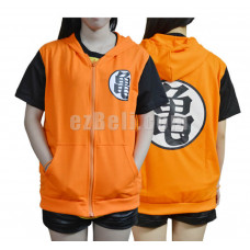 New! Dragon Ball Z Long/Short Sleeves Hoodie Jacket Type B