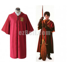 New! Harry Potter Gryffindor Quidditch Robe Cosplay