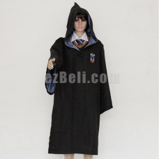 New! Harry Potter Robe Ravenclaw Cloak Cosplay Costume