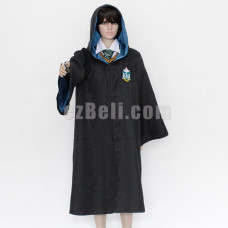 New! Harry Potter Robe Slytherin Cloak Cosplay Costume