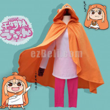 New! Himouto! Umaru-chan Umaru Doma Cosplay Cloak Hoodies Cloak